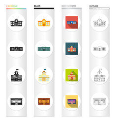 architecture design equipment and other web icon vector image