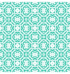 Art deco pattern with lacing shapes vector