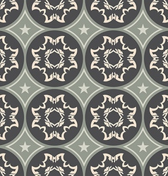 Colorful ornament pattern tile vector