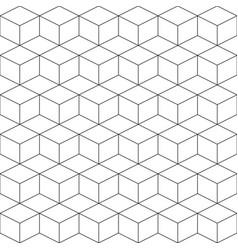 Geometric seamless pattern vector