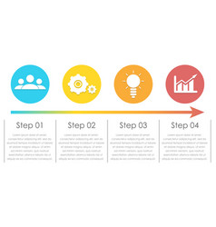 infographic elements can be used for chart vector image