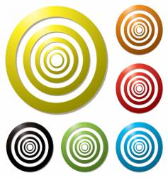 target variation vector image vector image