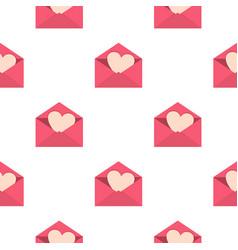 Valentine heart pattern seamless vector
