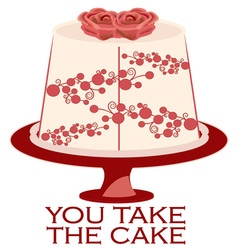 You take the cake vector