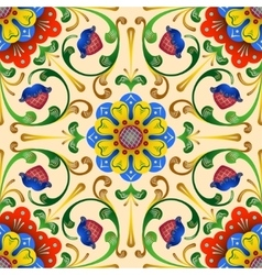 Folk seamless pattern1 vector