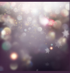 beautiful winter background eps 10 vector image