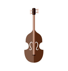 Classic string instrument graphic vector