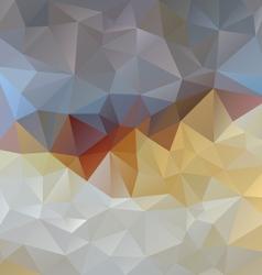 Gray blue opal polygonal triangular pattern vector