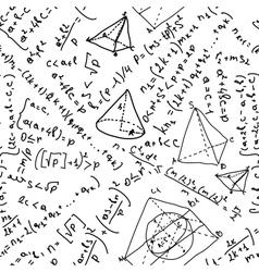 Mathematics Pattern vector image