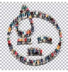 people emoticon smiley icon vector image vector image