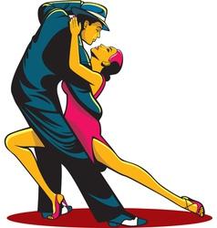 tango color vector image vector image