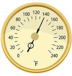 Food meat thermometer vector image
