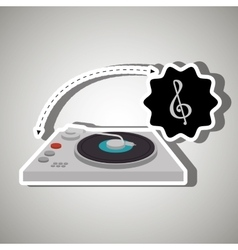 Musical concept design vector