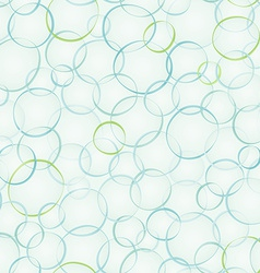 abstract bubble seamless pattern vector image