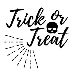 happy halloween greeting card logo poster banner vector image vector image