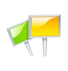 icon pickets vector image