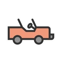 Safari jeep vector