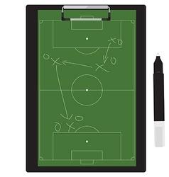 Soccer tactic vector