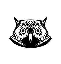Wise old owl vector image vector image