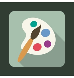 Palette icon vector