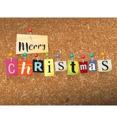 Merry christmas concept vector