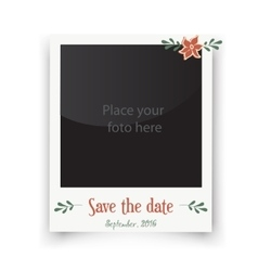 Retro wedding greeting cards template for vector