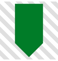 Direction down icon vector