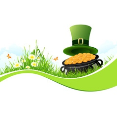 Patricks Day Background vector image