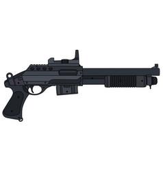 Small pump shotgun vector