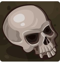 Symbol 7 skull vector