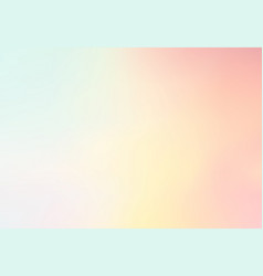 pastel multi color gradient backgroundsimple vector image