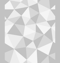 Polygonal mosaic abstract geometry vector
