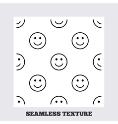 Smile lines seamless pattern vector