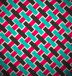 Abstract Retro Diagonal Background vector image vector image