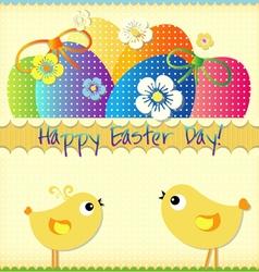 Easter card 2 vector