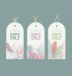 End of season summer hand drawn calligraphyc sale vector