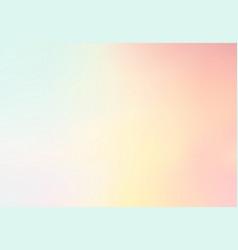 Pastel multi color gradient backgroundsimple vector