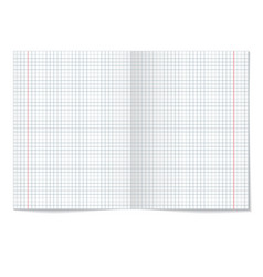 Sells notebook paper on white background vector