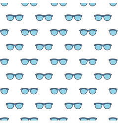 Spectacles pattern vector