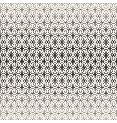 Seamless lines petal shapes lattice pattern vector