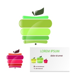 Apple card vector
