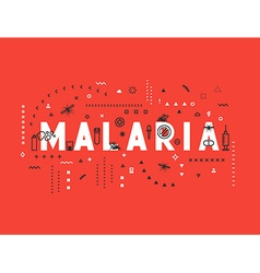Design concept epidemic of malaria vector