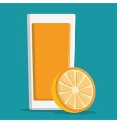 Drinks icon design vector image vector image