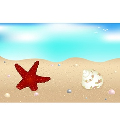 Seaside vector image vector image