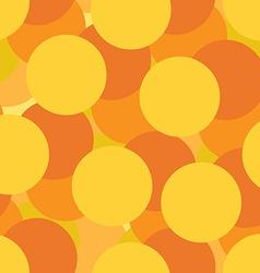 Golden circles seamless pattern vector