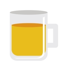 Glass and beverage icon image vector