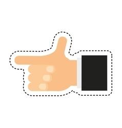 hand human photographer icon vector image