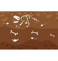 Underground vector image