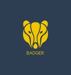 Badger logo vector