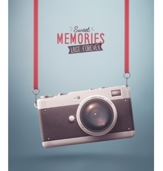 Sweet memories vector